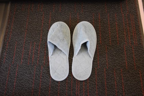 Turkish Airlines Business Class A330 - Slippers