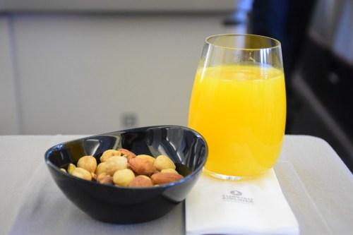 Turkish Airlines Business Class A330 - Amuse Bouche