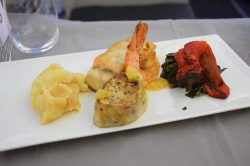 Turkish Airlines Business Class A330 - Main Course