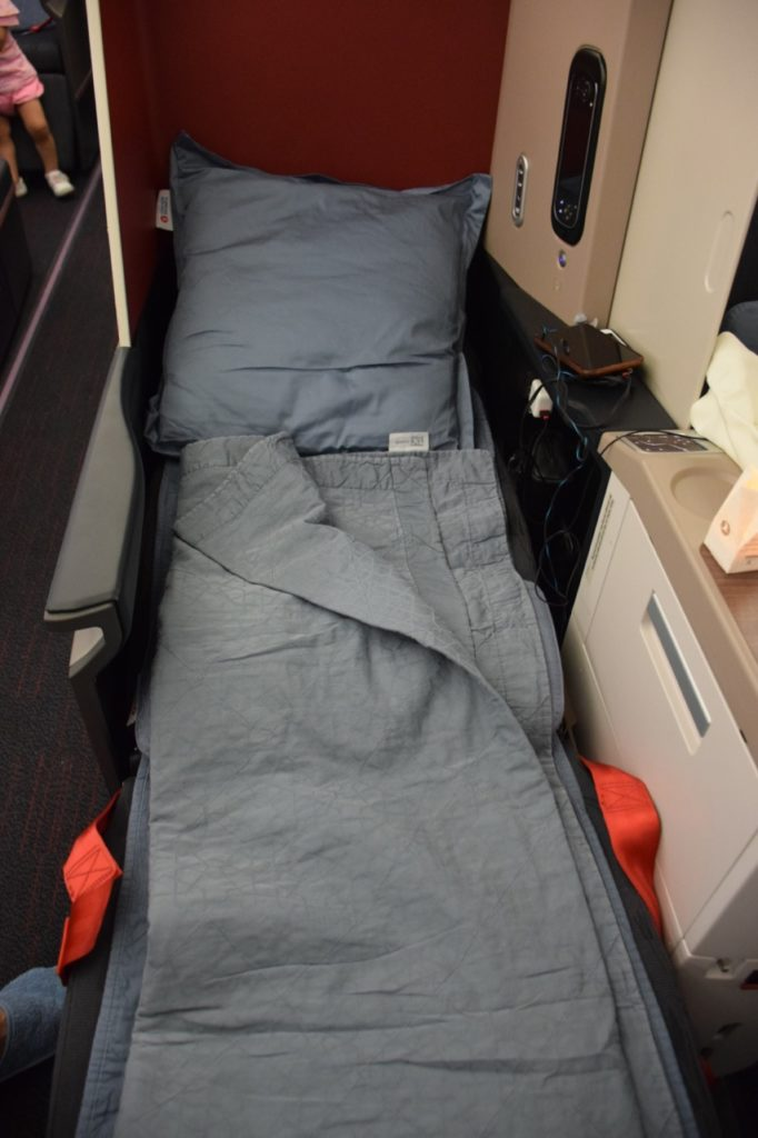 Turkish Airlines Business Class A330 - Bed
