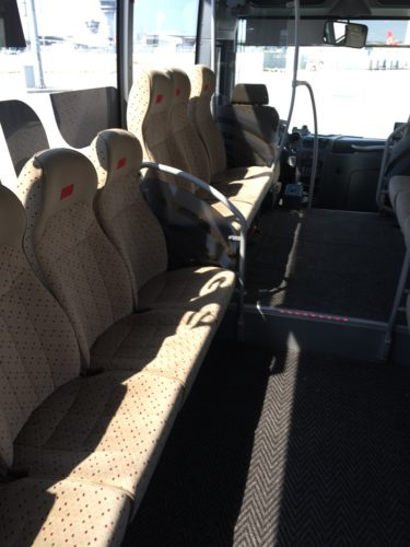 "Turkish Airlines ""Old"" Business Class - Shuttle Mini Bus"