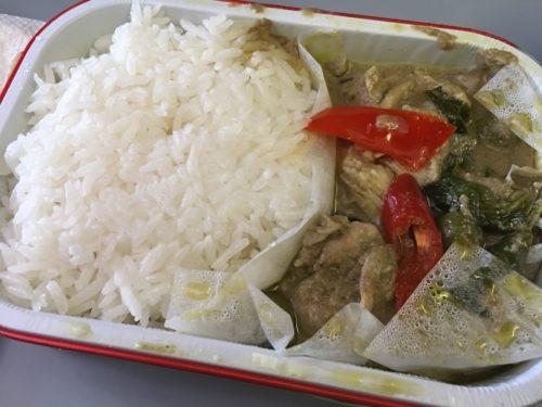 AirAsia Chiang Mai to Bangkok - Green Curry