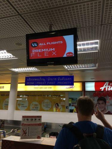 AirAsia Check In Counter