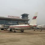 Koryo aircraft parked at Pyongyang Airport