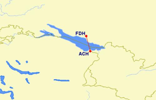 New non-stop flight between St Gallen and Friedrichshafen will be the world's shortest international flight