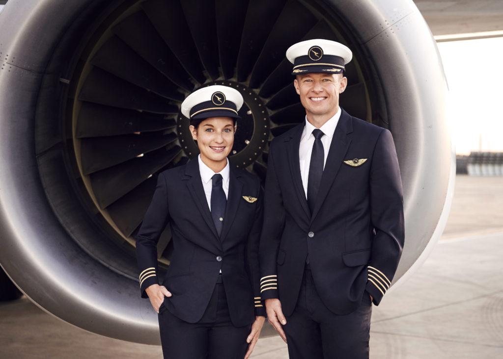 Qantas new pilot uniforms. Source: Qantas