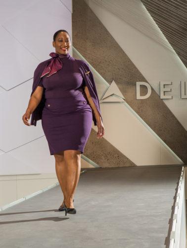 Delta's new uniform by Zac Posen for in-flight services