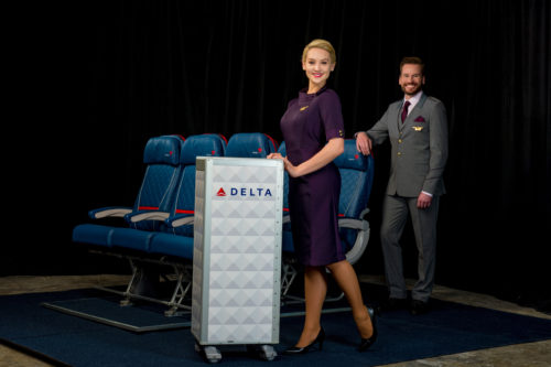 Delta's new uniform by Zac Posen for flight attendants