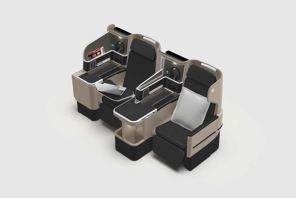 Qantas 787 Business Class Seats. Source: Qantas