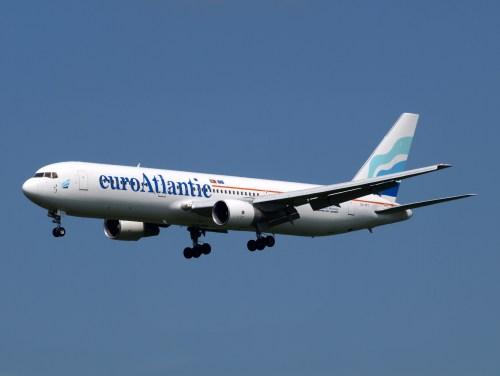 EuroAtlantic's 767-300ER. Photo by Alf van Beem, used with permission.