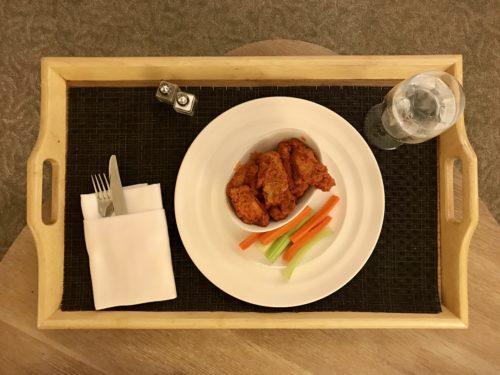 Conrad New York Room Service - Buffalo Wings
