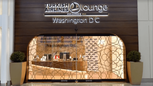 Turkish Airlines Lounge in Washington Dulles (IAD)