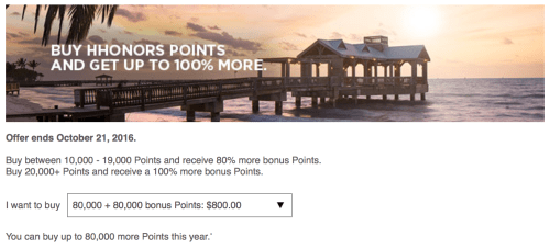 Image result for buy hilton points