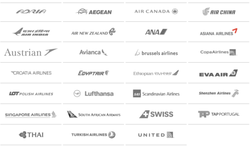 Current list of Star Alliance members