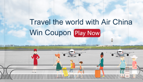 Air China is offering a coupon code for $30 off roundtrip flights from the US