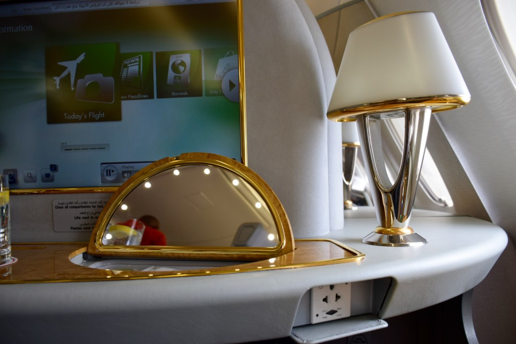 Emirates First Class A380 Vanity Mirror