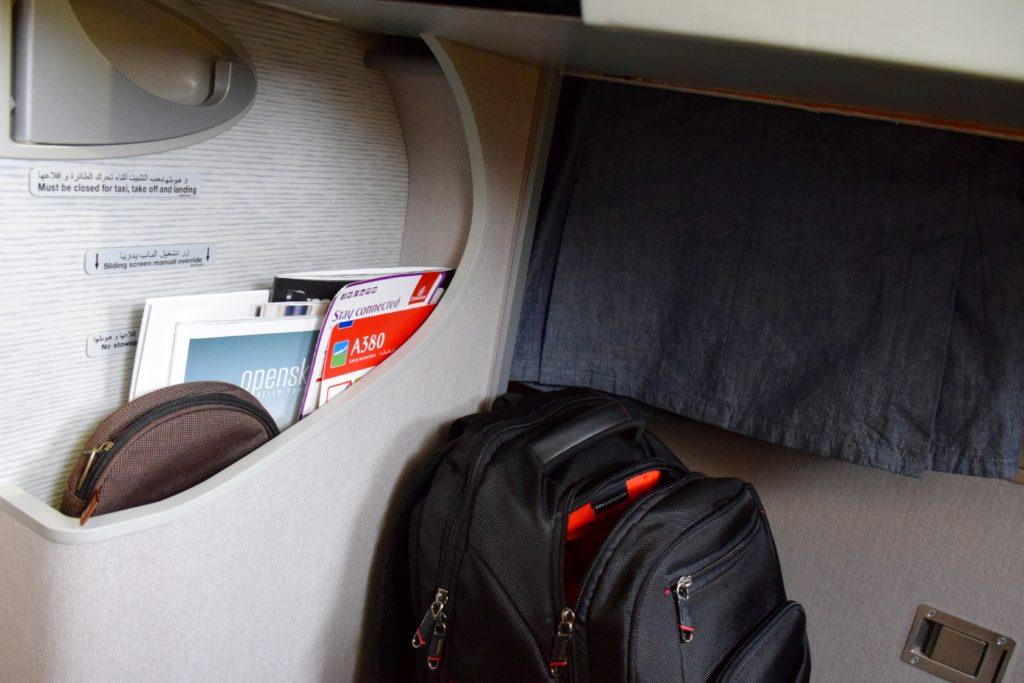 Emirates First Class A380 Magazine Holder