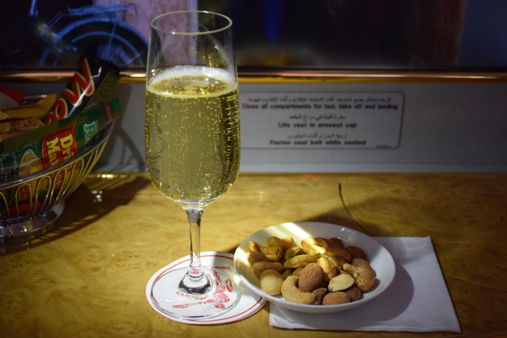 Almonds and Champagne