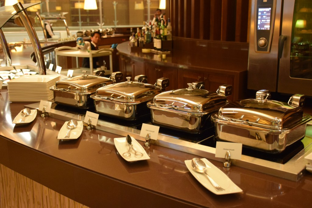 First Class Lounge Buffet