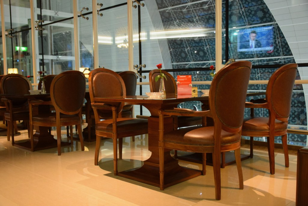 Emirates First Class Lounge Dubai Concourse A - Cigar Room