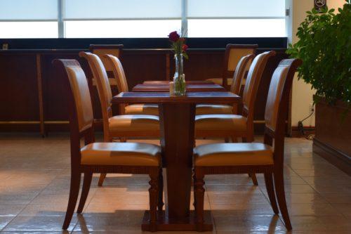 The Emirates Lounge JFK Dining Area Seating