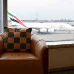 The Emirates Lounge JFK View