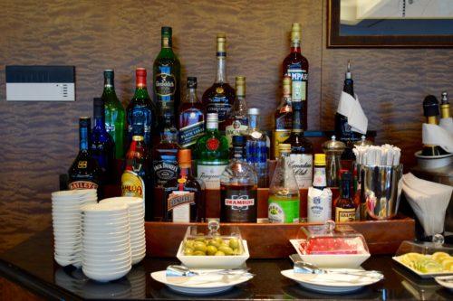 The Emirates Lounge JFK Liquor