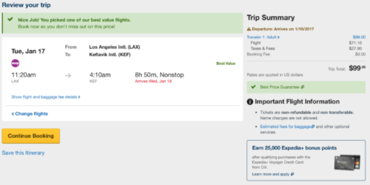 Search on Expedia for WOW Air tickets
