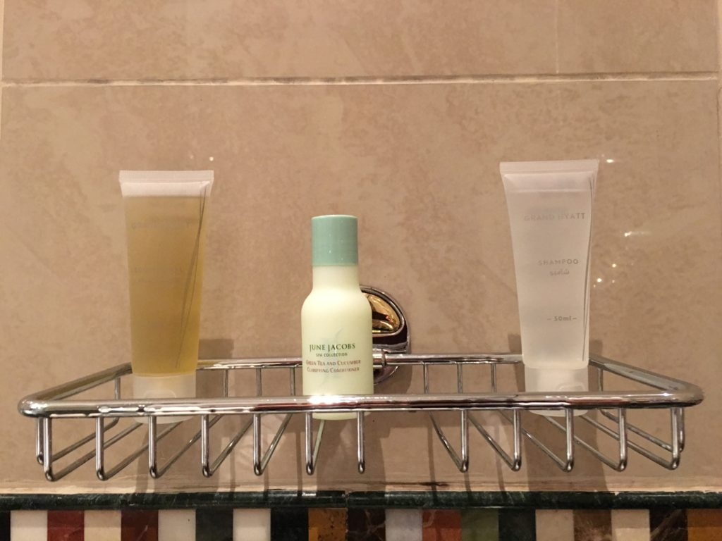 Grand Hyatt Dubai Grand King Room - Toiletries