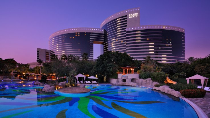 Grand Hyatt Dubai - Outdoor Pool. Photo by hotel.