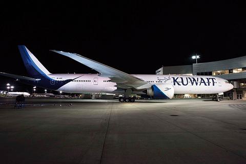 Kuwait Airways 777-300ER. Photo by Kuwait Airways.