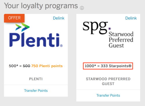 Log into your Membership Rewards account to check whether you were targeted.
