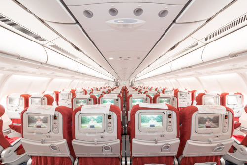 Sichuan Airlines A330 Economy Class