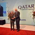 Qatar Airways Group CEO Akbar Al Baker received the Airline of the Year award on behalf of the airline at the CAPA Aviation Awards for Excellence. Flickr/Qatar Airways