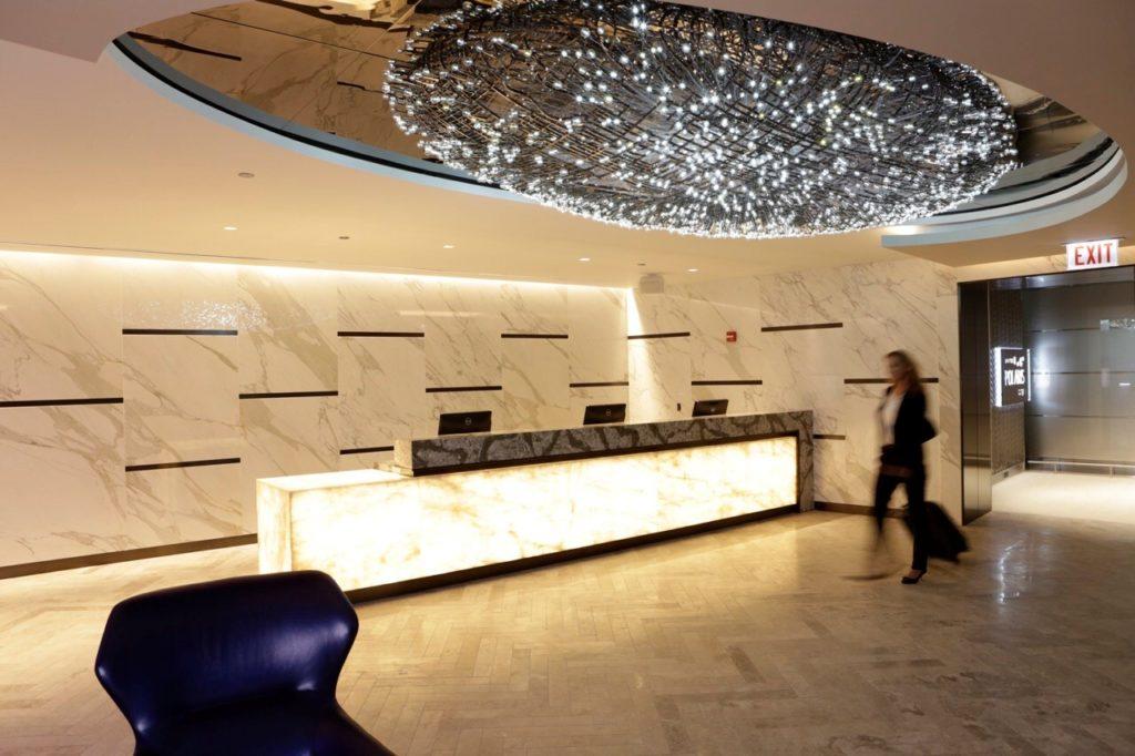 United Polaris Lounge Chicago O'Hare Entrance. Source: United