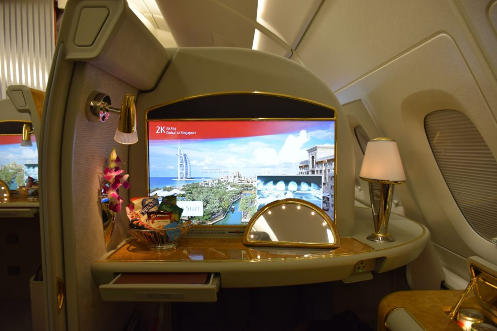 Emirates A380 First Class Seat