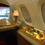 Emirates A380 First Class - In-Seat Mini Bar