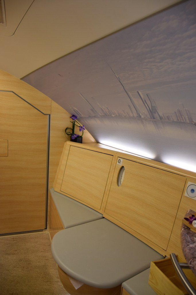 Emirates A380 First Class Bathroom/Shower