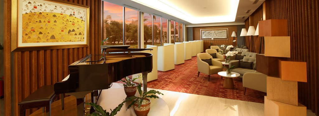 Garuda Indonesia First Class Lounge. Source: Garuda Indonesia