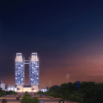 Rendering of One Constitution Avenue, formally named Grand Hyatt Islamabad. Source: One Constitution Avenue