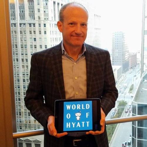 Jeff Zidell, SVP of Loyalty at Hyatt, answered questions from Reddit users in the AMA. @HyattTweets/Twitter