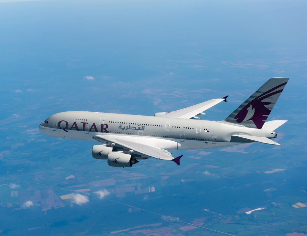 Qatar Airways A380. Qatar/Flickr