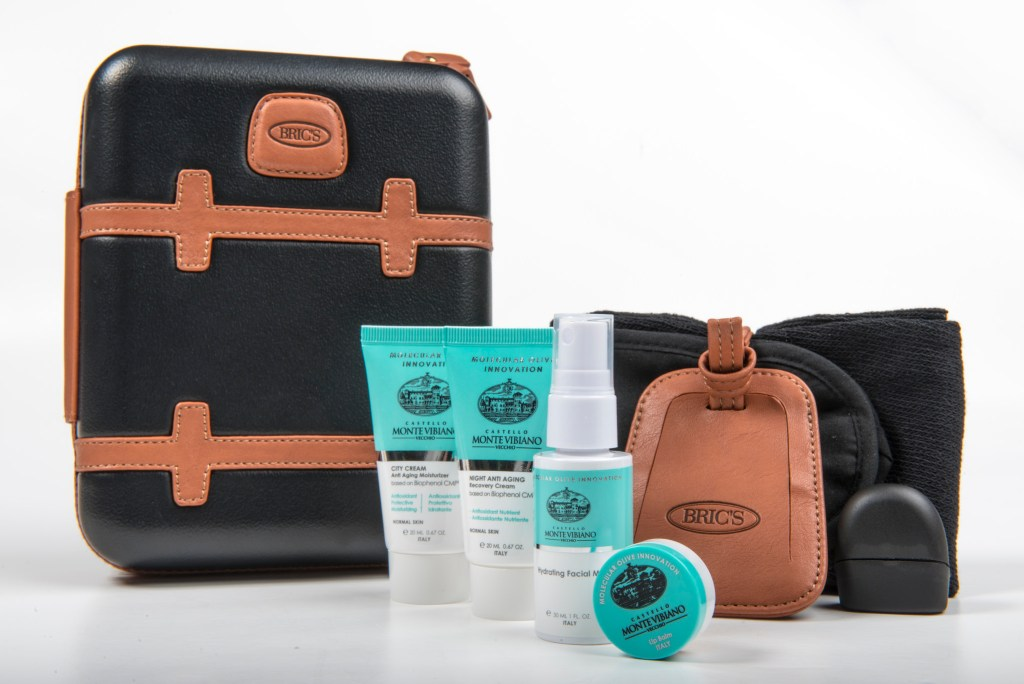 Image result for qatar first class brics amenity kit