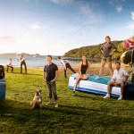 "Air New Zealand's ""Summer of Safety"" video. Source: Air New Zealand"