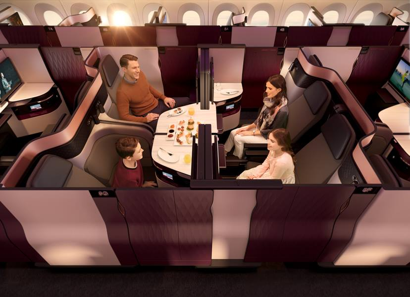 QSuite - Qatar Airways' new Business Class product