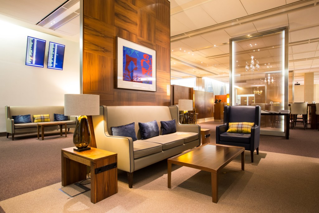 New furniture in Concorde Room. Source: British Airways