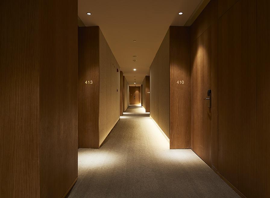 Muji Shenzhen, Hallway. Source: Muji Hotels