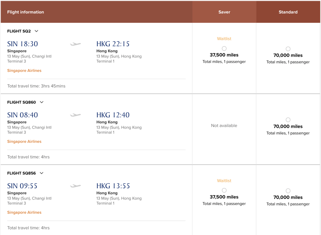 You can use KrisFlyer miles to waitlist for a Suites Class on the Singapore Airlines New A380 to Hong Kong.