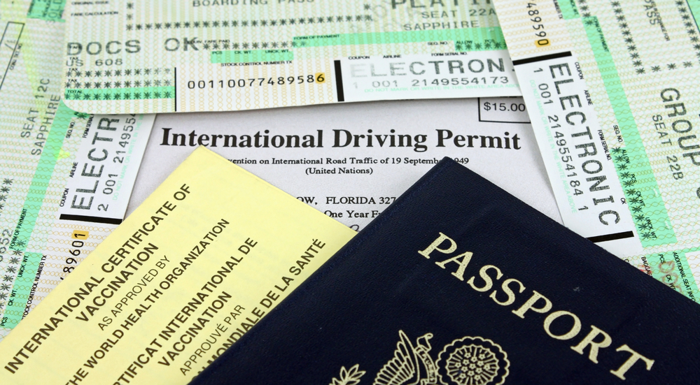 If you plan to drive in Europe, you will need to show a passport, a drivers license, and an international driving permit in most places.