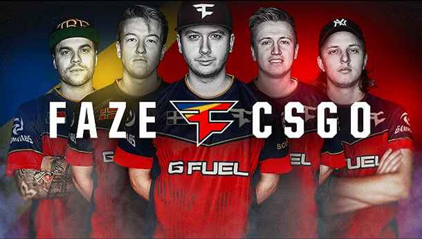 Team Faze Clan Members Failed To Disclose CS:GO Gambling Sponsorships
